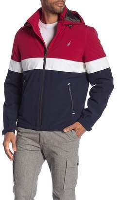 Nautica Stretch Tritone Color Block Jacket