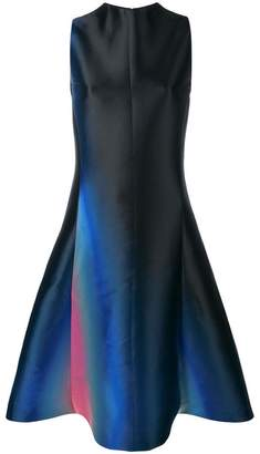 Lanvin gradient detail sleeveless dress