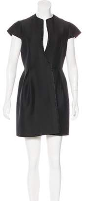 Magaschoni Wool Mini Dress