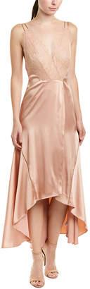 Jonathan Simkhai Johnathan Simkhai Satin Silk-Lined Midi Dress