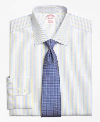Brooks Brothers Madison Classic-Fit Dress Shirt, Non-Iron Sidewheeler Stripe