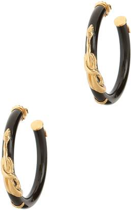 Of the Moment Gas Bijoux Cobra Hoops