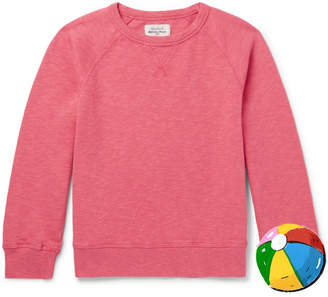 Hartford Boys Ages 2 - 12 Mélange Loopback Cotton-jersey Sweatshirt