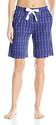 Nautica Women's Knit Bermuda Short