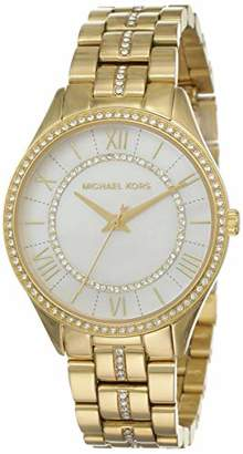 Michael Kors Womens Analogue Quartz Watch with Stainless Steel Strap MK3899,Mother of Pearl