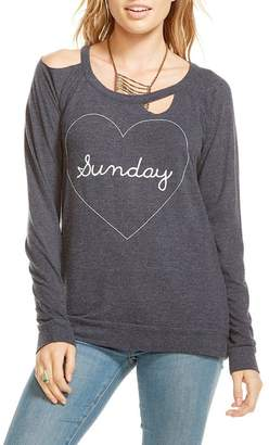 Chaser Heart Sunday Pullover