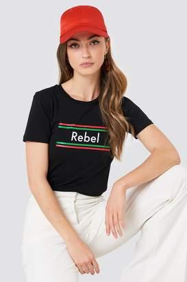 Colourful Rebel Rebel Stripes Classic Tee