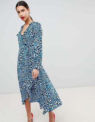 Karen Millen Leopard Midi Dress