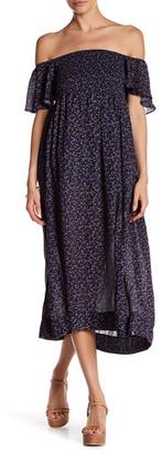 Anama Smock Bodice Floral Dress $89 thestylecure.com