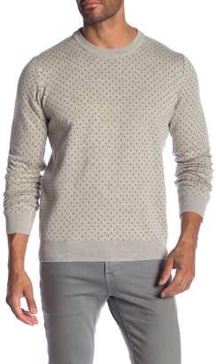 Ben Sherman Tipping Geo Crew Sweater