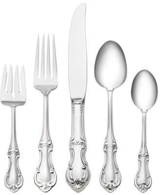 International Silver Sterling Silver Joan of Arc 5 Piece Dinner Flatware Set