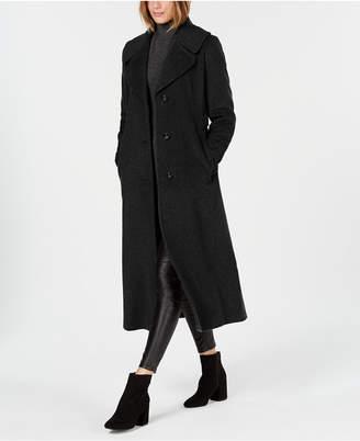 Calvin Klein Notch-Collar Maxi Coat
