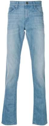 J Brand distressed slim-fit jeans