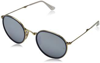 Ray-Ban Men's ORB3517 Round Sunglasses