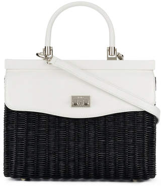 Rodo two tone shoulder bag