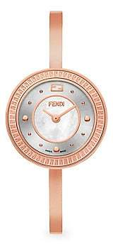 Fendi (フェンディ) - Fendi Fendi Fendi My Way Rose Goldtone Stainless Steel Bangle Strap Watch