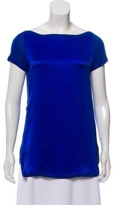 Gucci Silk Short Sleeve T-Shirt
