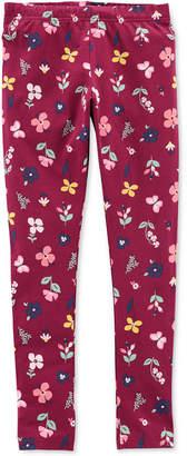 Carter's Little & Big Girls Floral Leggings