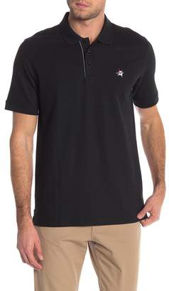 Robert Graham Devil Short Sleeve Knit Polo