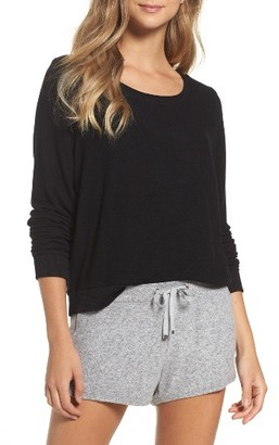 Women's Make + Model Brushed Hacci Sweatshirt $45 thestylecure.com