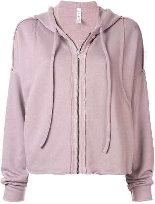 Alo Yoga hooded zipped jacket