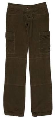 Ya-Ya Ya Ya Straight-Leg Corduroy Pants