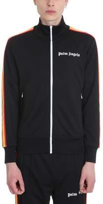 2edce43c41fdf Palm Angels Rainbow Track Black Polyester Jacket