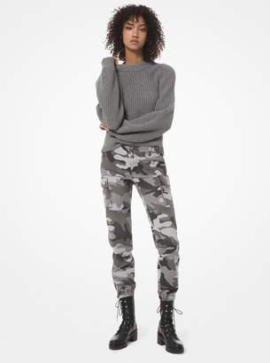 MICHAEL Michael Kors Camouflage Cargo Pants