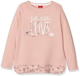 S'Oliver Baby Girls' 65.807.31.8028 Longsleeve T-Shirt