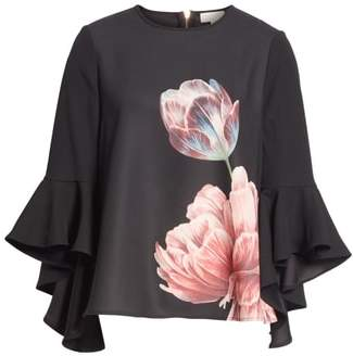 Ted Baker Suuzan Tranquility Waterfall Top
