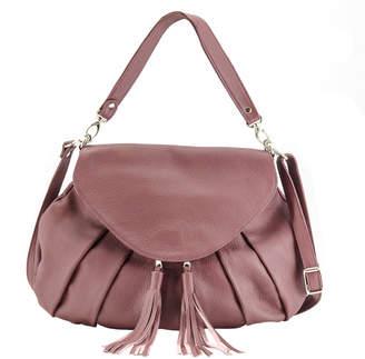 Annie Diamantidis Helius Leather Hobo Bag