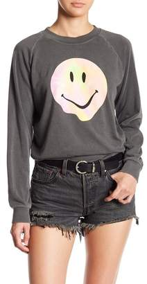 Wildfox Couture Psychedelic Smiley Junior Sweater