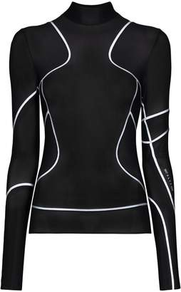 Alyx reflective-trim mesh top