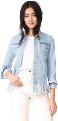 TULAROSA Tamsen Denim Jacket $198 thestylecure.com