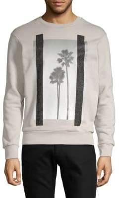 Palm Angels Graphic Cotton Sweatshirt