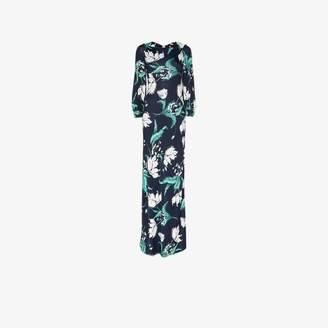 Erdem Etheline floral full-length gown