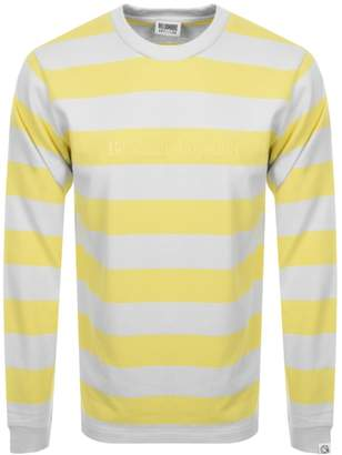 Billionaire Boys Club Striped Sweatshirt Yellow