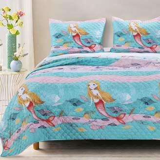 Mermaid Quilt Set