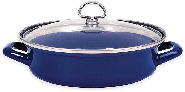 ChantalChantal® 3 qt. Enamel-on-Steel Saute Pan with Glass Lid
