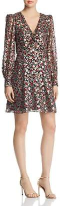 Kate Spade Floral Park Clip-Dot Dress