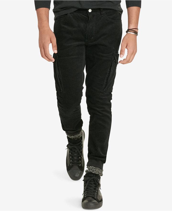 Polo Ralph LaurenPolo Ralph Lauren Men's Stretch Corduroy Cargo Jogger Pants