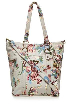 Mantaray Multi-Coloured Floral Print Bucket Bag