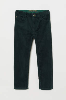 H&M Corduroy Pants - Green