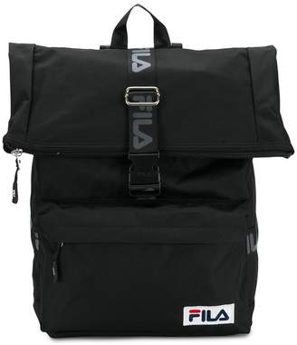 Fila logo buckled backpack