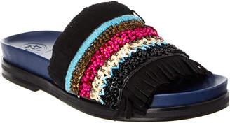 Tory Burch Isle Leather Slide Sandal