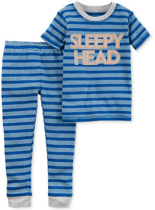 Carter's Little Planet Organics 2-Pc. Sleepy Head Cotton Pajama Set, Baby Boys