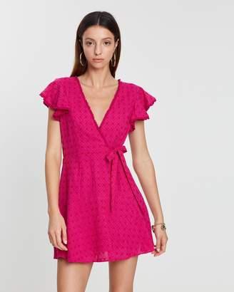 Barba Wrap Dress