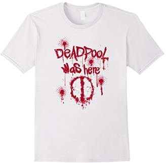 Marvel Deadpool Was Here Graphic T-Shirt