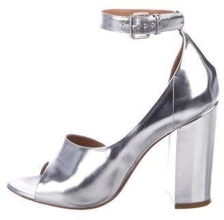 3.1 Phillip Lim Metallic Ankle Strap Sandals
