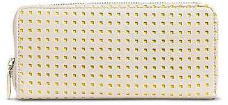 Merona; Women's Faux Leather Wallet with Zip Closure Ivory - Merona; $14.99 thestylecure.com